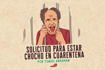 SOLICITUD PARA ESTAR CHOCHO EN CUARENTENA