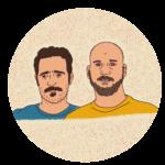 Mariano Taborda y Emilio Teno