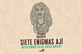 SIETE ENIGMAS (Elsa Drucaroff)